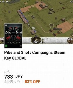 g2a クーポン Pike and Shot : Campaigns Steam Key GLOBAL